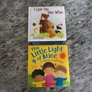 NEW! Set of 2 Religious Baby/Child Books